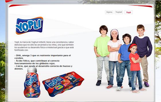 yogurt yopli niños5