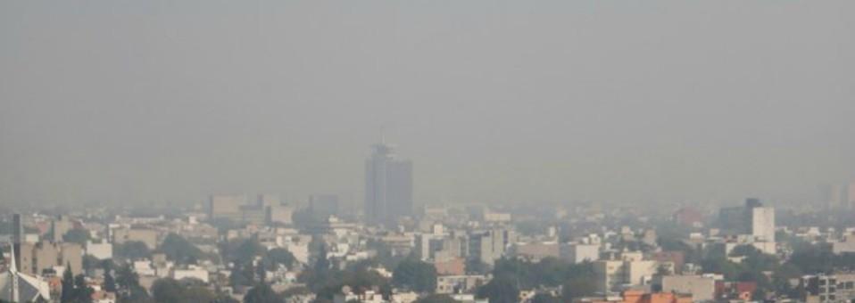 Casi nula calidad del aire en el Valle de México en el 1er. semestre de 2014