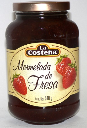-mermelada fresa costeña