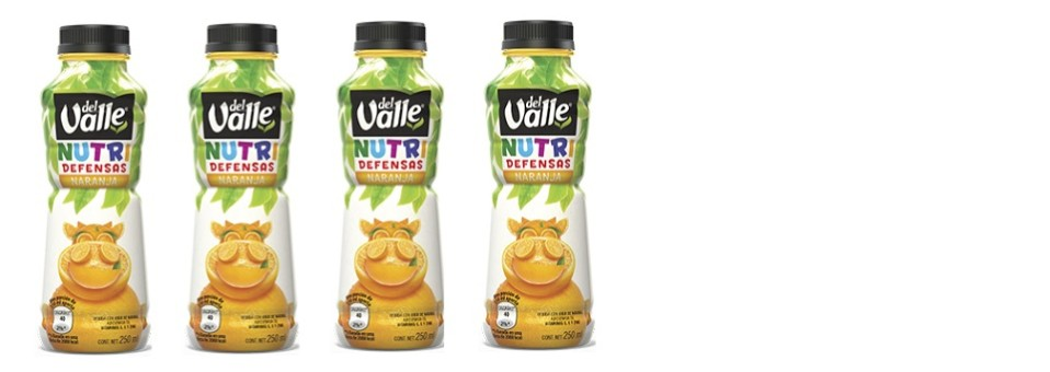 Radiografía de… Nutri Defensas Naranja Del Valle (250 ml., un vaso)