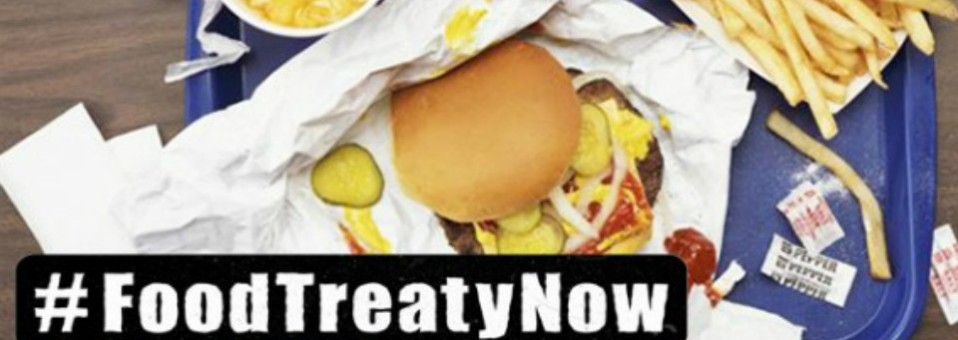 Exigen consumidores del mundo un convenio global contra la comida chatarra