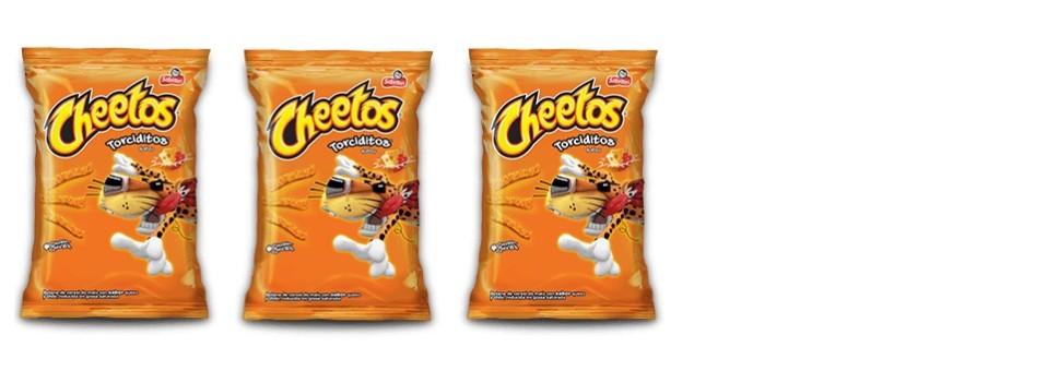 Radiografía de… Cheetos (48 g., una bolsa)