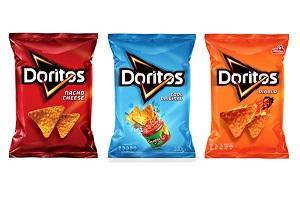 Doritos Diablo by Sabritas, 5.19 oz, Chili & Lemon Corn Snacks ...