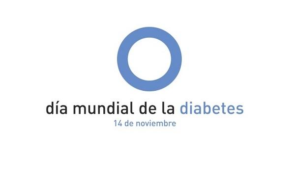 Ilustración con la leyenda Día Mundial de la Diabetes 14 de noviembre