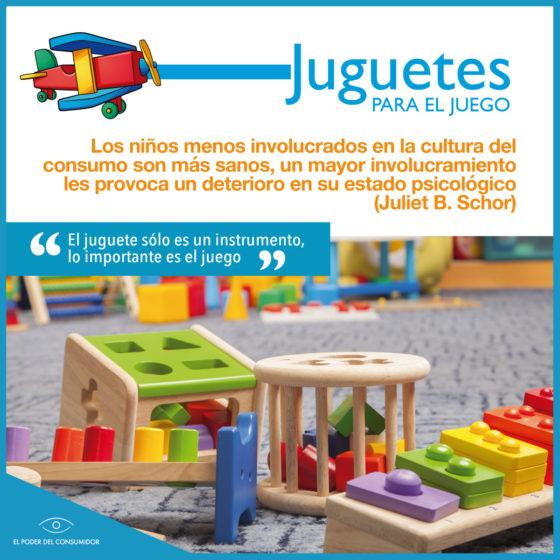 Infografía Lo importante es el juego no el juguete
