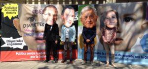 Recorrido casas de campaña candidatos a la Presidencia de México