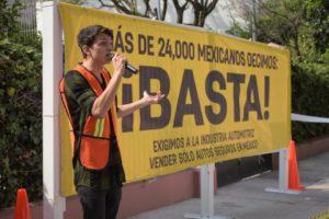 Participación de  Andrés Prats, joven de 21 años de edad proveniente de Guadalajara, quien es un sobreviviente de un accidente vial en aquella ciudad