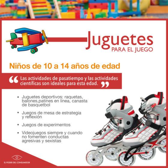 Guía de juguetes para niñxs de 10 a 14 años