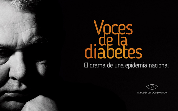 Portada del documento Voces de la diabetes en México. El drama de una epidemia nacional