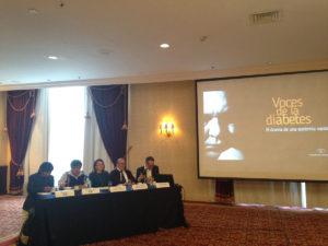 Presentación de Voces de la diabetes. El drama de una epidemia nacional