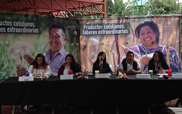 """Lanzamiento de la campaña """"Productos Cotidianos, Labores Extraordinarias"""" de la Iniciativa Valor al Campesino, que busca acercar a consumidores y familias campesinas"""