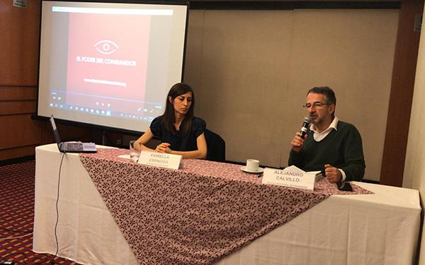 Conferencia de prensa, en el Día Mundial de la Obesidad, donde hicimos un llamado a dejar de estigmatizar a las personas con obesidad y mejor estigmatizar el ambiente obesogénico