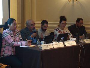 Conferencia de prensa de las organizaciones de la sociedad civil El Barzón, El Poder del Consumidor, El Grupo de Financiamiento Climático para América Latina y el Caribe (GFLAC) y la Iniciativa Climática de México (ICM) que promovemos la generación de electricidad distribuida a través del esquema del Bono Solar