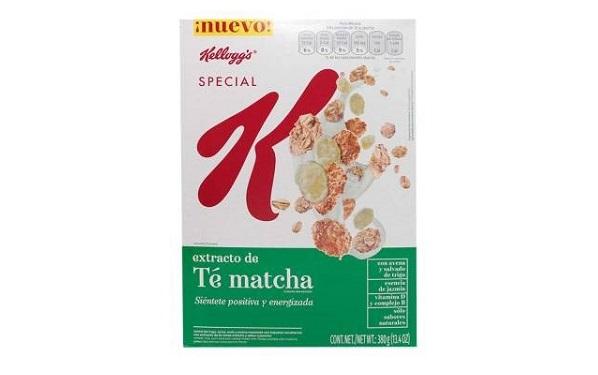 Special K extracto de té matcha de Kellogg´s s (caja con 380 gramos)