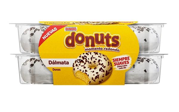Donuts Dálmata de Bimbo (caja con 232 gramos)