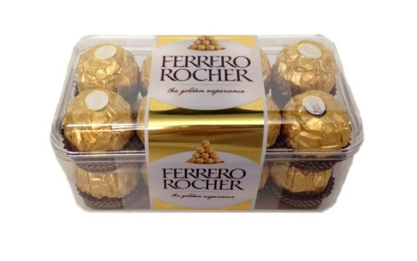 Ferrero Rocher (empaque de 200 gramos)