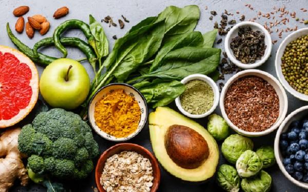 Semillas, frutas y verduras