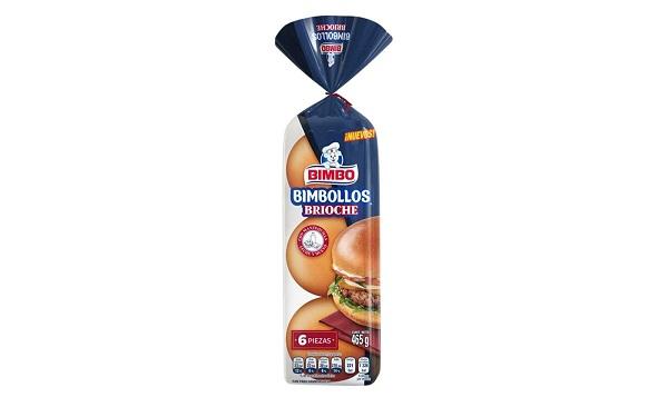 Bimbollos Brioche de Bimbo (pan para hamburguesa, empaque de 465 gramos)