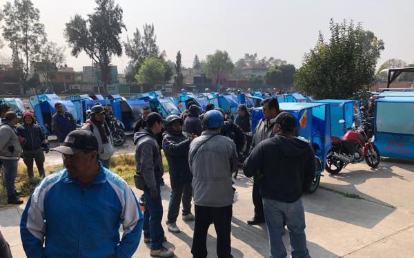 Organizaciones de mototaxistas en Tláhuac, Ciudad de México