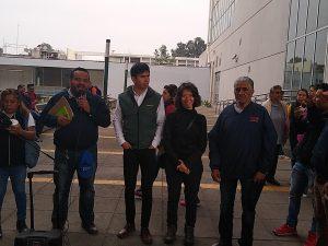 Recorrido con organizaciones de mototaxistas en Tláhuac, Ciudad de México