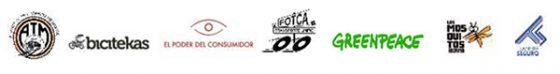 Logos de las organizaciones convocantes de este comunicado