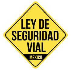 Logo de la propuesta de Ley General de Seguridad Vial México
