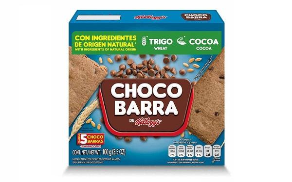 ChocoBarra de Kellogg´s (caja con 5 piezas de 20 gramos)
