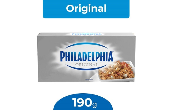 Queso Philadelphia de Kraft (empaque de 190 gramos)