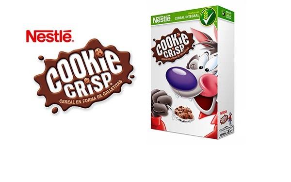 Cereal Cookie Crisp de Nestlé (caja con 480 gramos)