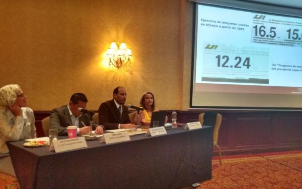 Presentación en conferencia de prensa de propuesta de un etiquetado obligatorio de eficiencia en los automóviles