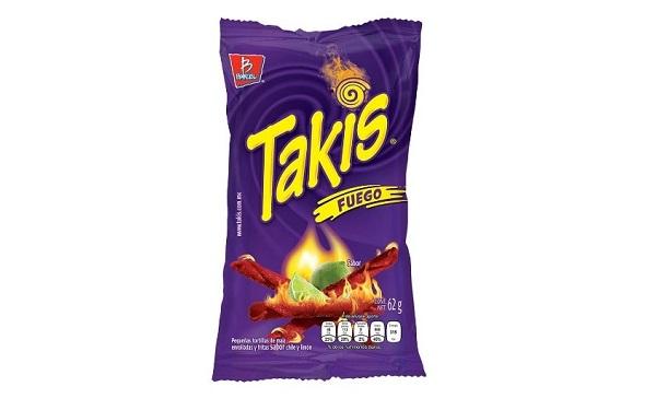 Takis fuego de Barcel (bolsa de 62 gramos)