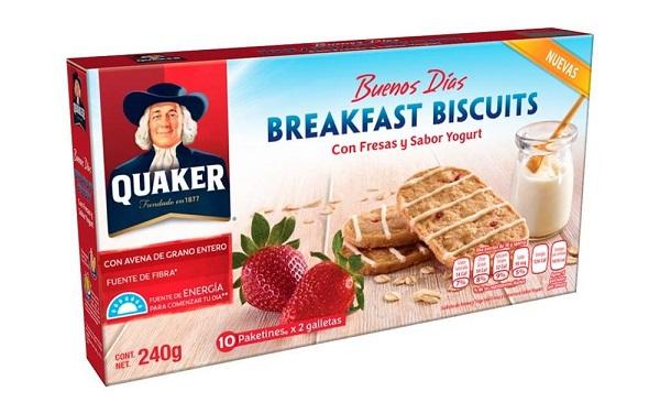 Caja de galletas Breakfast Biscuits de Quaker