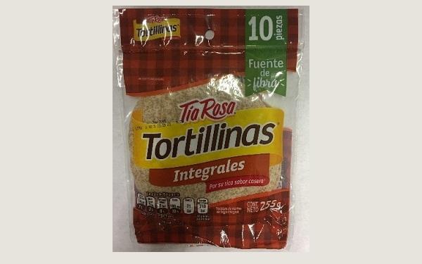 Tortillinas integrales Tía Rosa (empaque de 255 gramos)