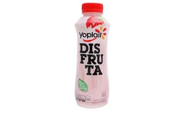 Yogurt bebible Disfruta con trozos de fresa de Yoplait (botella de 307 mililitros)