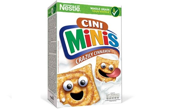 Cereal Cini minis de Nestlé (caja con 345 gramos)