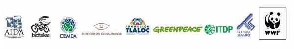 Logos de organizaciones que suscriben este pronunciamiento