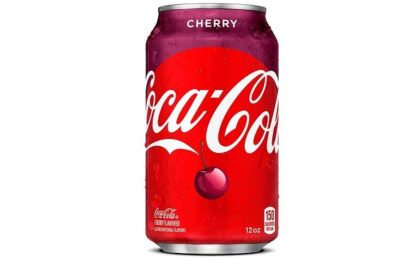 Coca-cola Cherry sabor cereza (lata de 355 mililitros)