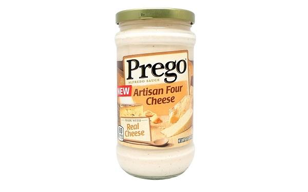 Prego Salsa Artesanal Cuatro Quesos (envase de 411 gramos)