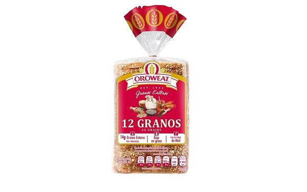 Pan de caja Oroweat 12 Granos de Bimbo