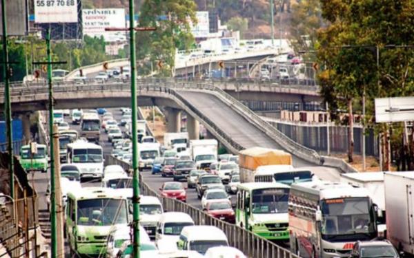 Flujo vehicular en Indios Verdes