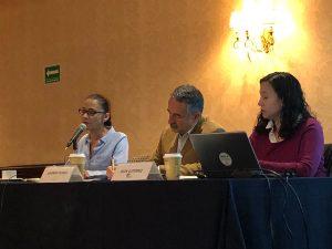 Conferencia de prensa donde se dieron a conocer los resultados de la encuesta nacional realizada sobre los principales aspectos que contiene el proyecto del nuevo etiquetado de advertencia para alimentos y bebidas en México que se encuentra en consulta pública