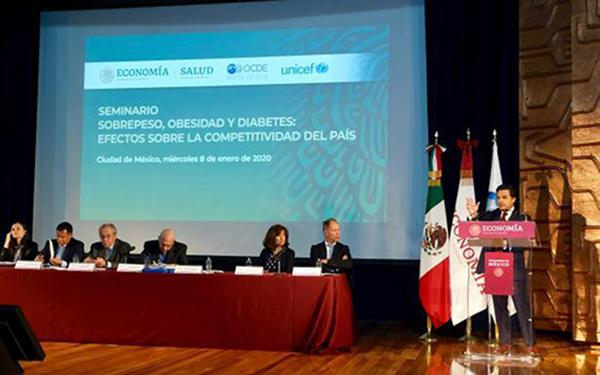 Panel del Seminario Sobrepeso, Obesidad y Diabetes: Efectos sobre la competitividad del país