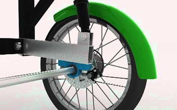 Rueda de ciclotaxi
