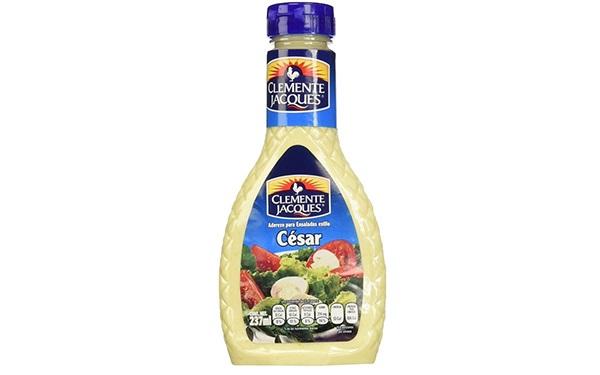 Aderezo para ensalada estilo César de Clemente Jacques (237 mililitros)