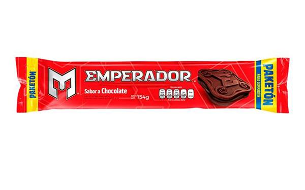 Galletas Emperador sabor a Chocolate de Gamesa (empaque de 154 gramos)