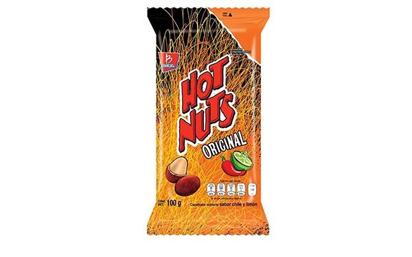 Cacahuates Hot Nuts Original de Barcel (100 gramos)