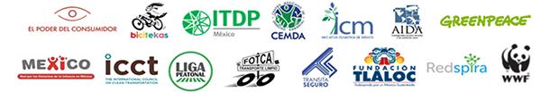 Logos de las organizaciones integrantes del OCCA y que suscriben este pronunciamiento y documento