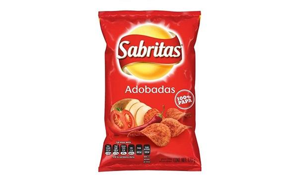 Sabritas Adobadas (bolsa pequeña e individual de 62 gramos)