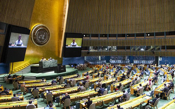Asamblea General de la ONU OMS