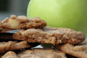 Galletas de canela y manzana